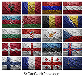 European countries from A to G