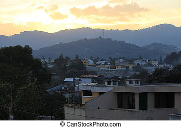 Guatemalan Sunset - Sunset in Guatemala City