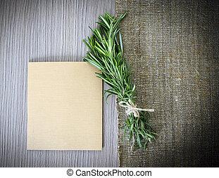 bois, lotissements, Limite, espace, fond, planche, copie,...