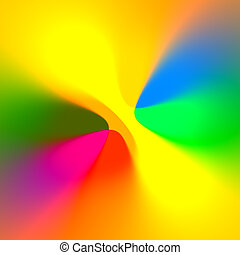 Color Beauty - Abstract Simple Joyful Colorful Color Beauty...