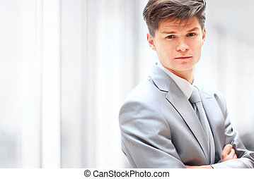handsome business man - Portrait of a handsome business man