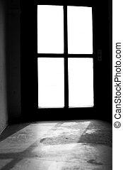 luz, ventana, Alcanzar, sótano