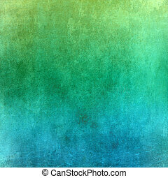 Green and blue grunge background