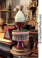 CHAIANG MAI, THAILAND - JANUARY 26, 2014 : Tradition product...