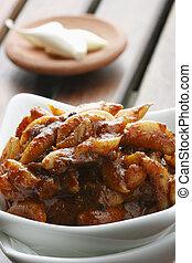 Garlic Pickle - A popular Indian pickle - Garlic Pickle -...