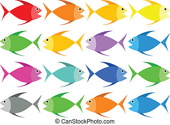 Full Color Fish Vector