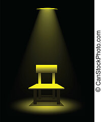 Interrogation Room Vector
