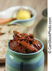 Mixed Vegetable Pickle - An Indian Pickle - Mixed Vegetable...