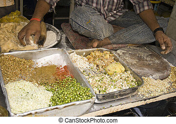 Ingredients for paratha. - Ingredients for stuffed paratha...