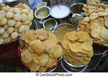 Pani puri is a popular street snack of India - Panipuri is a...