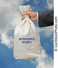 Borrowed, pengar