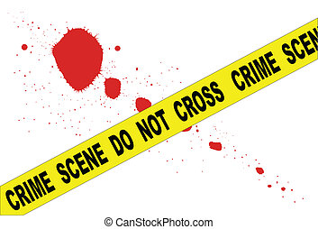 Crime Scene Do Not Cross - A typical CRIME SCENE DO NOT...