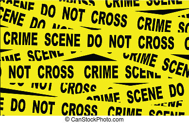 Crime Scene Tape - A typical CRIME SCENE DO NOT CROSS...