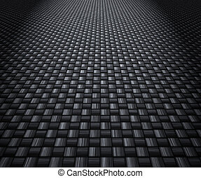 carbon fibre background - great image of a woven carbon...