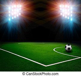 ボール, サッカー, 競技場