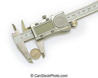 Caliper measures change