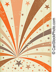 grunge vintage entertainment - A retro circus background for...