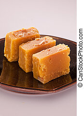 Mysore Pak is a sweet from India - Mysore Pak is a Sweet...