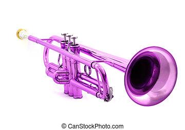 trompeta, violeta