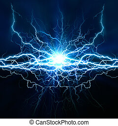 Electric lighting effect, abstract techno backgrounds for your design
