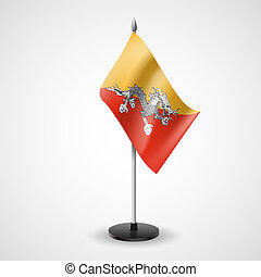 Table flag of Bhutan - State table flag of Bhutan National...
