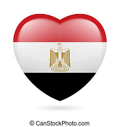Heart icon of Egypt