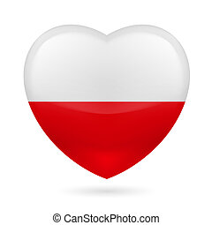 Heart icon of Poland