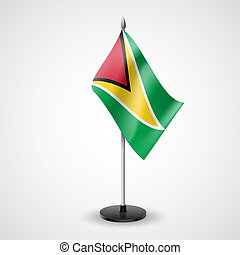 Table flag of Guyana - State table flag of Guyana National...