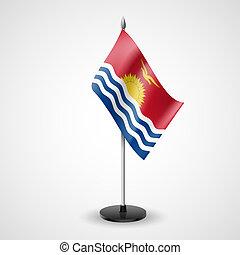 Table flag of Kiribati - State table flag of Kiribati...