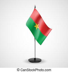Table flag of Burkina Faso - State table flag of Burkina...