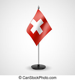 Table flag of Switzerland - State table flag of Switzerland....