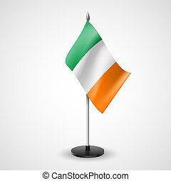 Table flag of Ireland - State table flag of Ireland National...