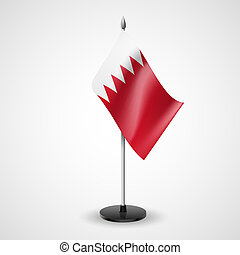 Table flag of Bahrain - State table flag of Bahrain National...