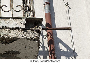 Corrosion of reinforced concrete. - Corrosion of reinforced...
