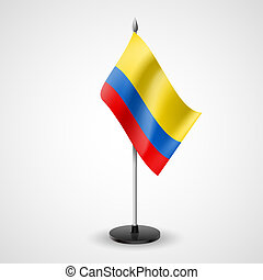 Table flag of Colombia - State table flag of Colombia...