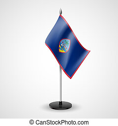 Table flag of Guam - State table flag of Guam. National...
