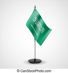Table flag of Saudi Arabia - State table flag of Saudi...