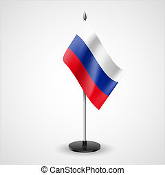 Table flag of Russian Federation - State table flag of...