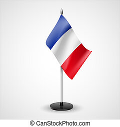 Table flag of France - State table flag of France. National...
