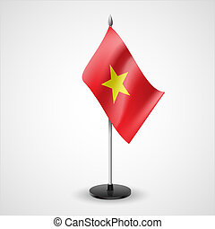 Table flag of Vietnam - State table flag of Vietnam....