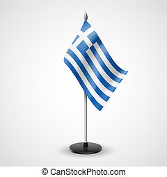Table flag of Greece - State table flag of Greece. National...