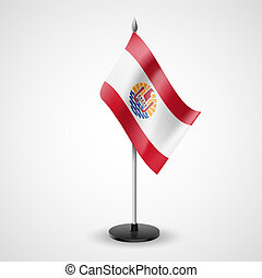 Table flag of French Polynesia - State table flag of French...