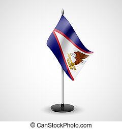 Table flag of American Samoa - State table flag of American...