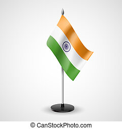 Table flag of India - State table flag of India. National...