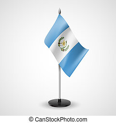 Table flag of Guatemala - State table flag of Guatemala...