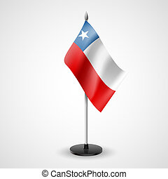Table flag of Chile - State table flag of Chile. National...