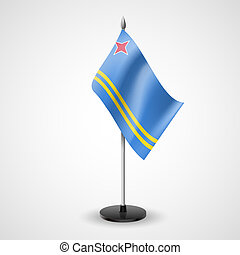 Table flag of Aruba - State table flag of Aruba National...
