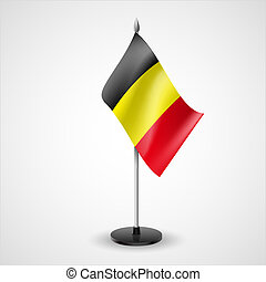 Table flag of Belgium - State table flag of Belgium....