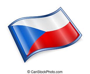 Czech Flag icon.