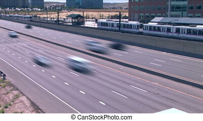 (1021) City Metro Traffic Time Lapse - City Metro Traffic...